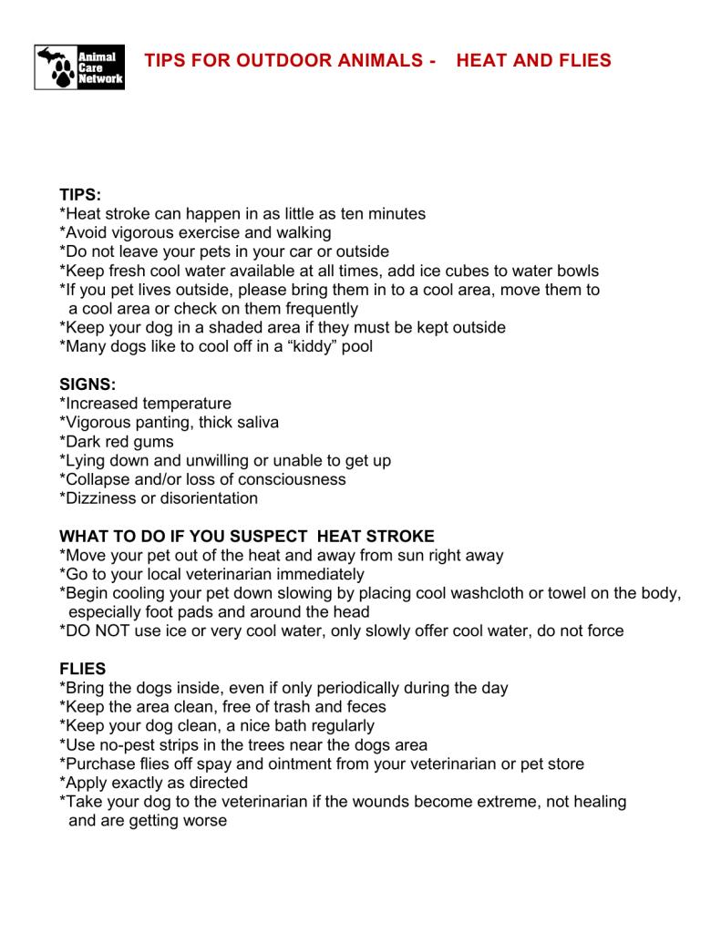 HEAT TIPS - FLY TIPS