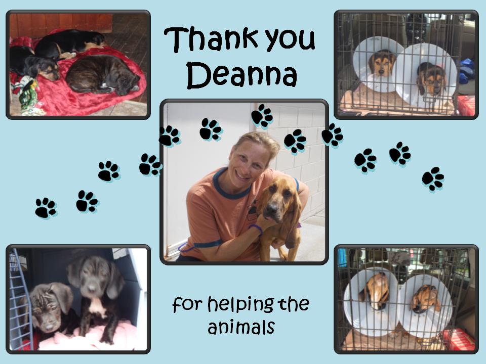 June 20 2014 thank you deanna