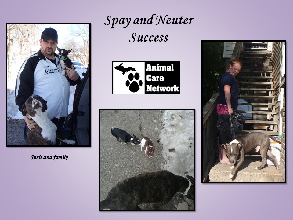 July 6, 2014 spay and neuter success