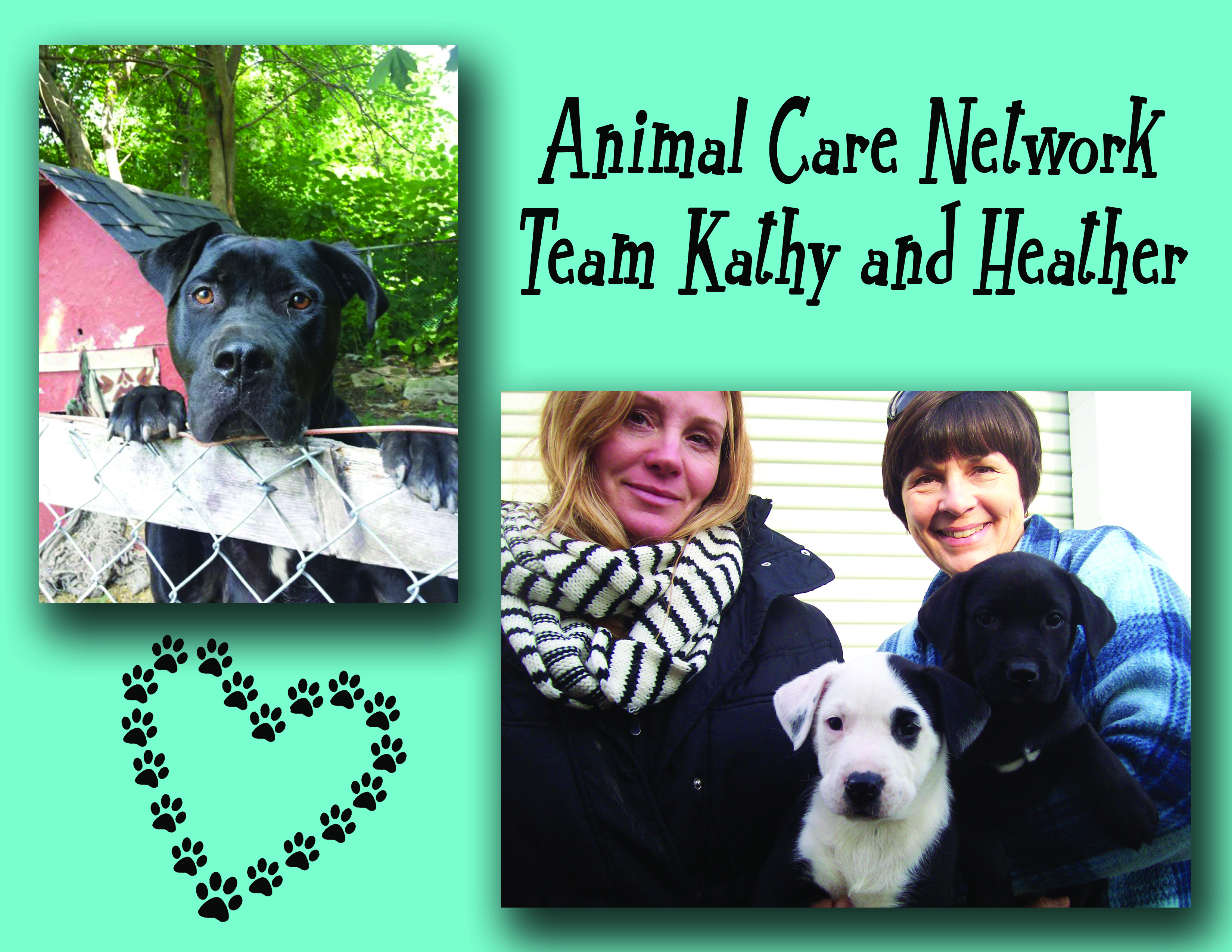 team kathy and heather