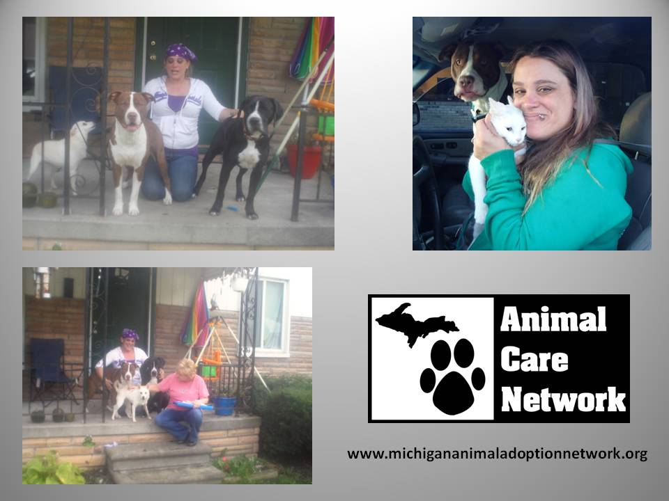 spay and neuter charity and her pets