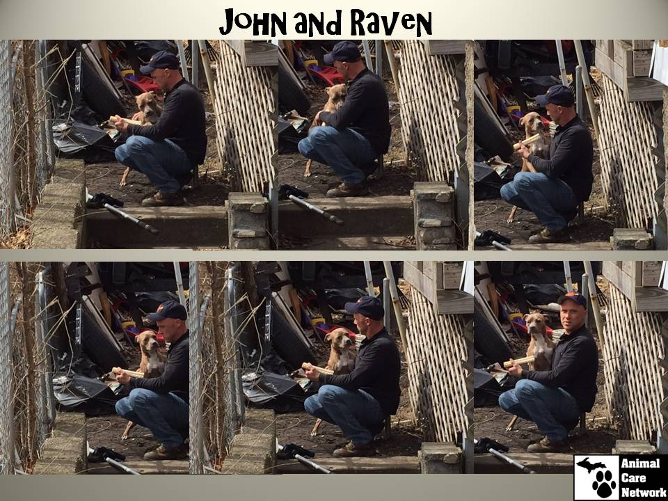 JOHN AND RAVEN